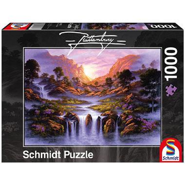 Schmidt legpuzzel Droomachtige waterval 1000 stukjes
