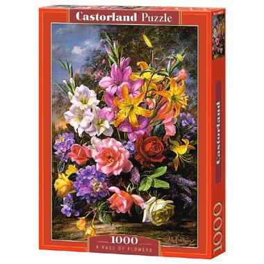 Selecta Castorland legpuzzel een Vaas Bloemen 1000 stukjes