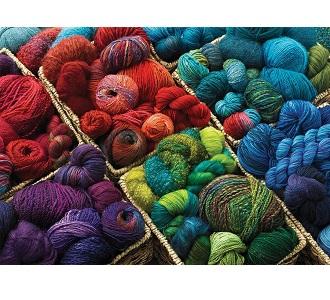 Eureka Cobble Hill legpuzzel Plenty of Yarn 1000 stukjes