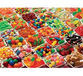 Eureka Cobble Hill legpuzzel Snoepjes 1000 stukjes