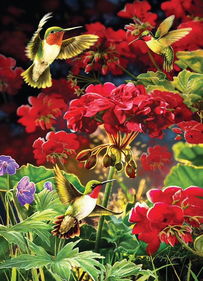 Eureka Cobble hill legpuzzel Geraniums 1000 stukjes