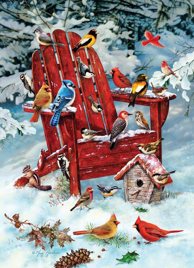 Eureka Cobble hill legpuzzel Adirondack Birds 1000 stukjes