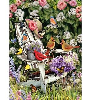 Eureka Cobble hill puzzel summer adirondack birds 1000 stukjes