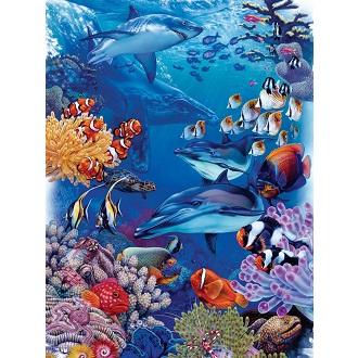 Eureka Cobble hill familie kinderpuzzel Oceaan 400 stukjes vanaf