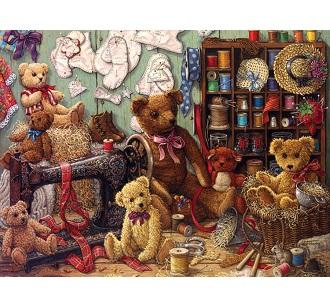 Eureka Cobble hill kinderpuzzel Teddy Beren 275 stukjes vanaf 6