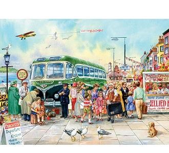 Eureka Cobble hill kinderpuzzel Britse Pier 275 stukjes vanaf 6