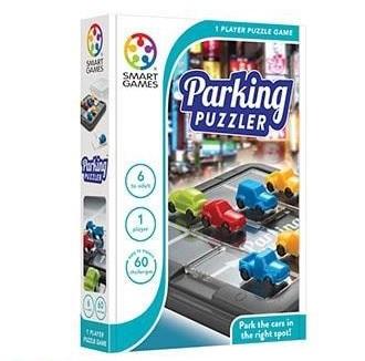 Smart Games kinderpuzzel parkeer de auto 8 stukjes vanaf 7 jaar