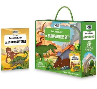 De Lantaarn Kinderpuzzel De Dinosaurussen 210 stukjes vanaf 6 ja