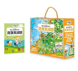 De Lantaarn Kinderpuzzel Nederland 210 stukjes vanaf 6 jaar