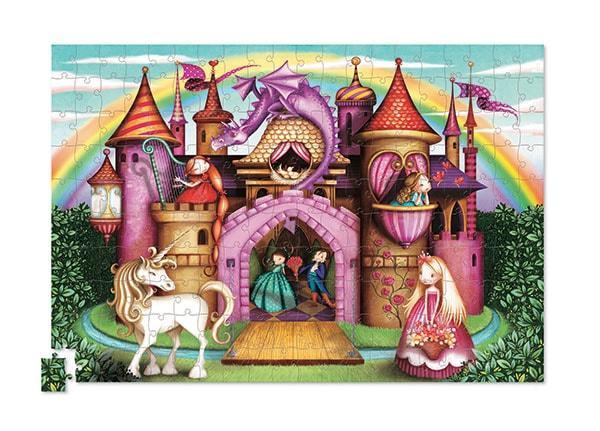 Crocodile creek kinderpuzzel Prinsessen Kasteel met Poster 200 s