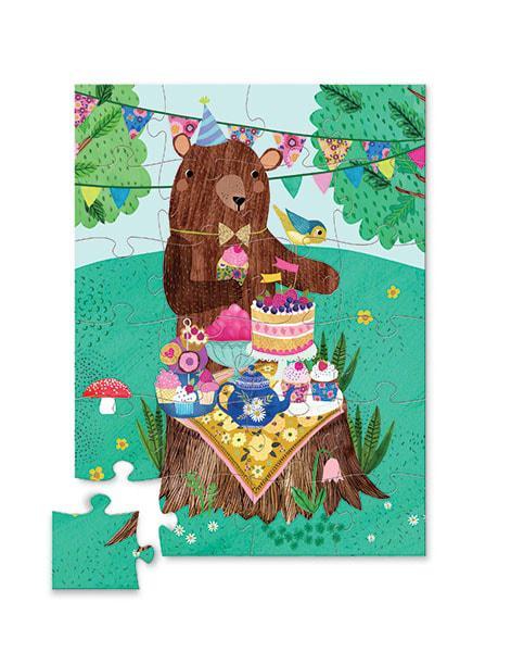 Crocodile creek kinderpuzzel Verjaardagsbeer 24 stukjes vanaf 3