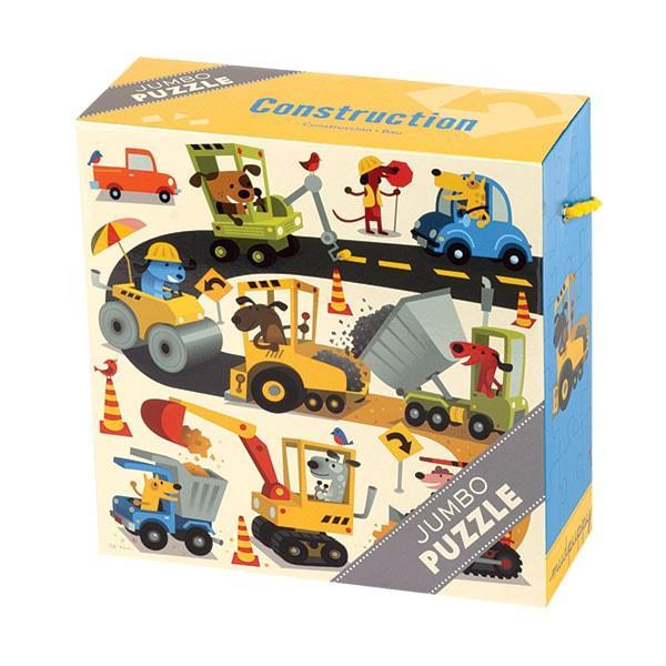 Mudpuppy Jumbo kinderpuzzel Constructie 25 stukjes vanaf 2 jaar