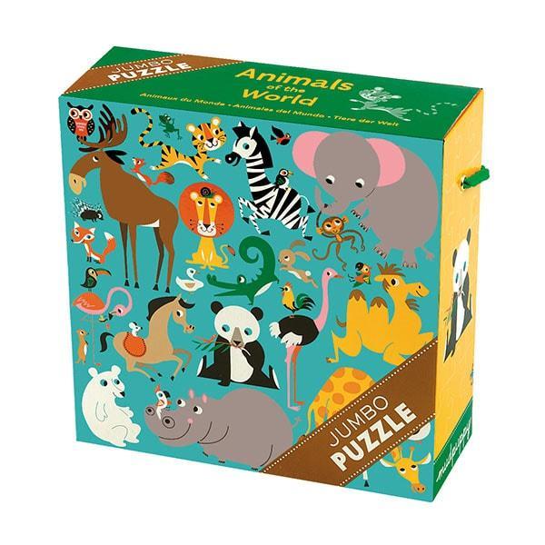 Mudpuppy Jumbo kinderpuzzel Dieren 25 stukjes vanaf 2 jaar