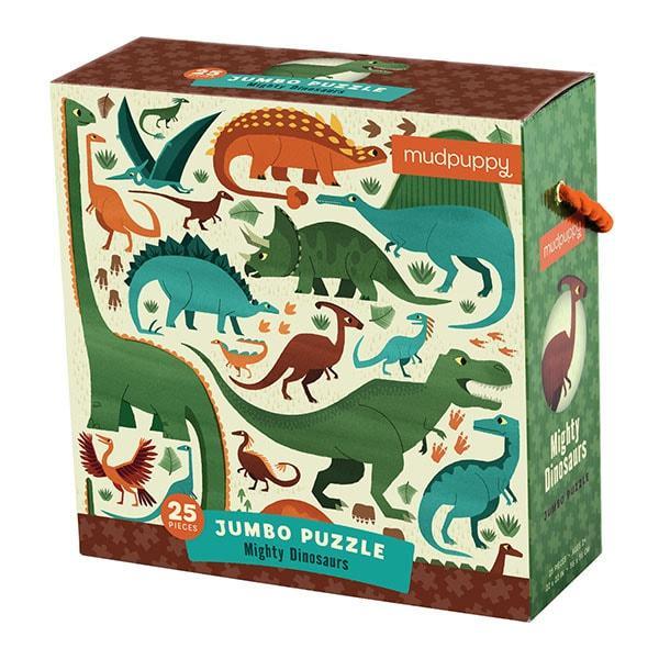 Mudpuppy Jumbo puzzel dinosaurus 25 stukjes vanaf 2 jaar