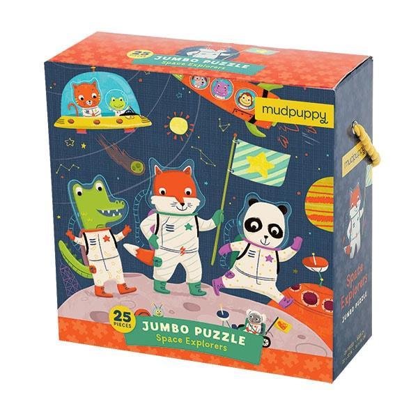 Mudpuppy Jumbo puzzel ruimte 25 stukjes vanaf 2 jaar