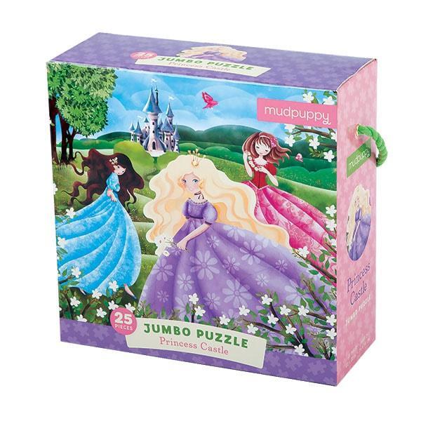 Mudpuppy Jumbo kinderpuzzel Prinsessen Kasteel 25 stukjes vanaf
