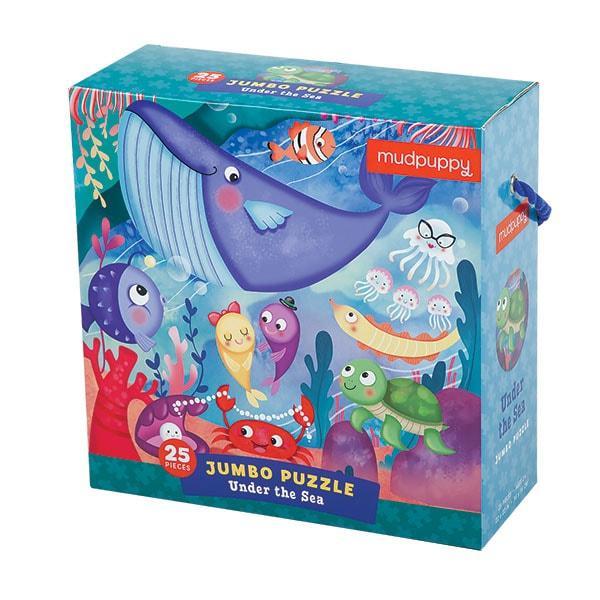 Mudpuppy Jumbo puzzel onder de zee 25 stukjes vanaf 2 jaar