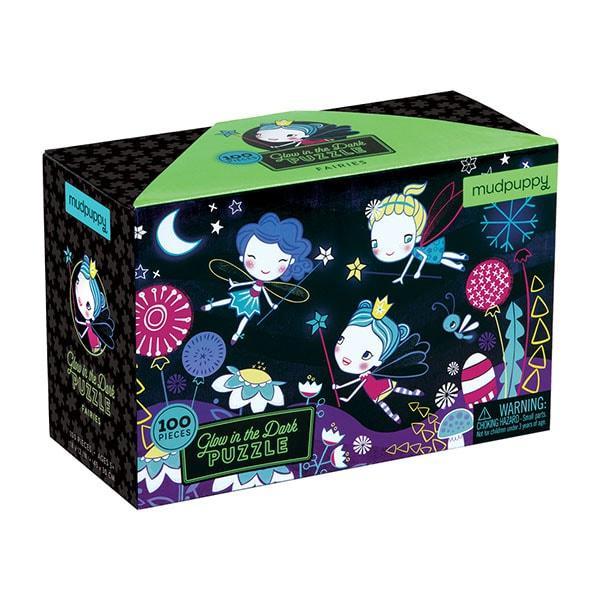 Mudpuppy Glow in Dark kinderpuzzel de Fee 100 stukjes vanaf 5 ja