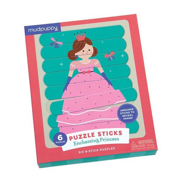 Mudpuppy puzzel sticks Betoverende Prinses 24 stukjes vanaf 3 ja