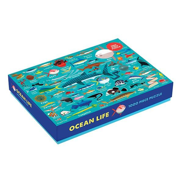 Mudpuppy puzzel het oceaan leven 1000 stukjes vanaf 8 jaar