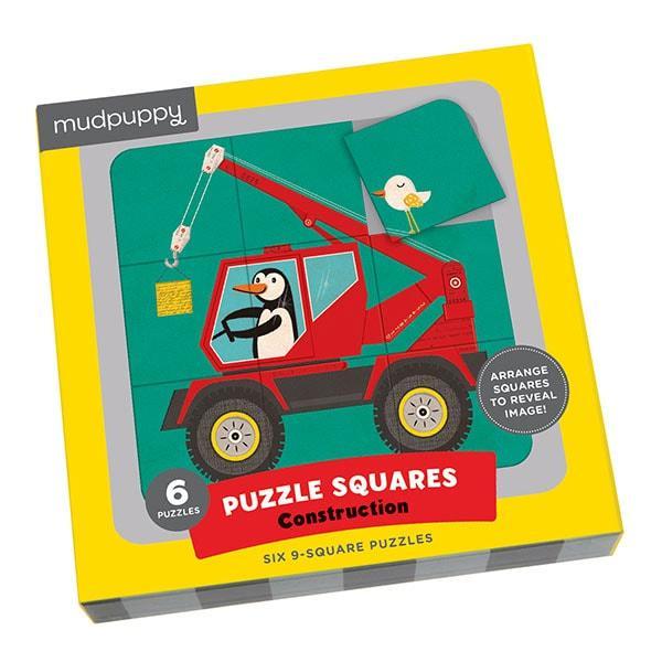 Mudpuppy puzzel vierkant constructie 29 stukjes vanaf 3 jaar