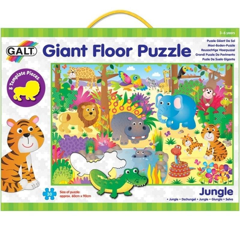 Galt vloerpuzzel jungle 30 stukjes vanaf 3 jaar