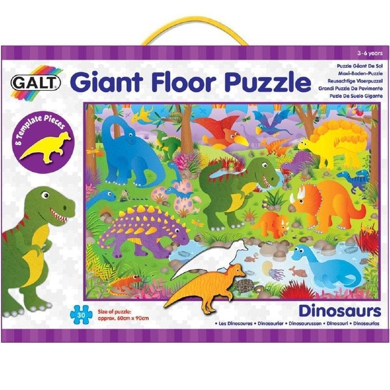 Galt vloerpuzzel Dinosaurus 30 stukjes vanaf 3 jaar