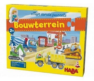 Haba mijn eerste puzzels kinderpuzzel Bouwterrein 5 stukjes vana