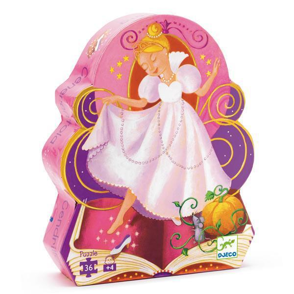 Djeco kinderpuzzel Assepoester 36 stukjes vanaf 4 jaar