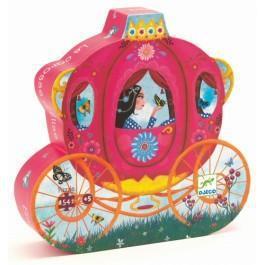 Djeco kinderpuzzel Koets van Elise 54 stukjes vanaf 4 jaar