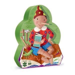 Djeco kinderpuzzel Pinokkio 50 stukjes vanaf 3 jaar