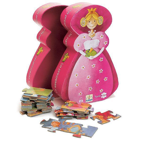 Djeco kinderpuzzel Prinses 36 stukjes vanaf 4 jaar