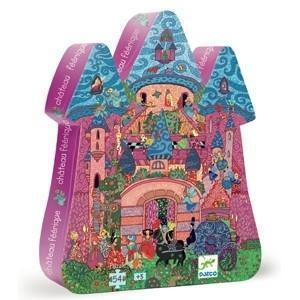 Djeco puzzel prinsessen kasteel 54 stukjes vanaf 4 jaar