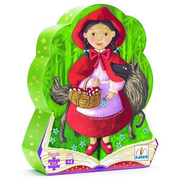 Djeco kinderpuzzel Roodkapje 36 stukjes vanaf 4 jaar