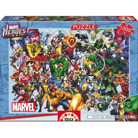 Educa legpuzzel Marvel Heroes 1000 stukjes