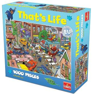 Goliath Thats life puzzel Traffic Jam 1000 stukjes vanaf 7 jaar