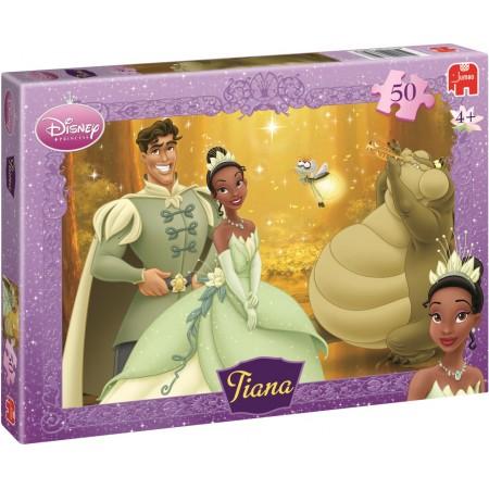 Jumbo Disney kinderpuzzel Tiana 50 stukjes vanaf 4 jaar
