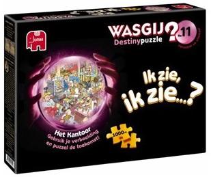 Jumbo Wasgij destiny 11 legpuzzel het Kantoor 1000 stukjes