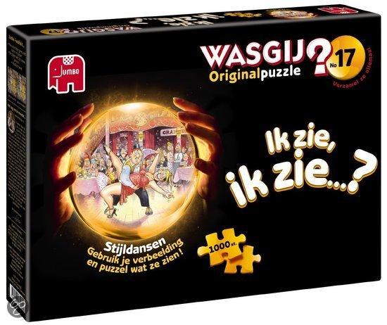 Jumbo Wasgij original 17 legpuzzel Stijldansen 1000 stukjes