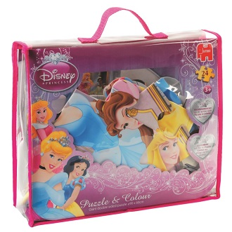 Jumbo puzzel Disney princess 24 stukjes vanaf 3 jaar