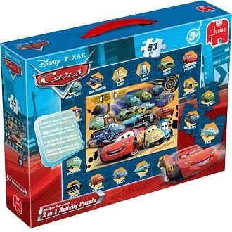 Jumbo Disney kinderpuzzel Pixar Cars 53 stukjes vanaf 3 jaar