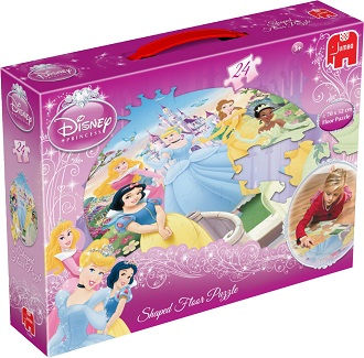 Jumbo Disney princes vloerpuzzel 24 stukjes vanaf 4 jaar