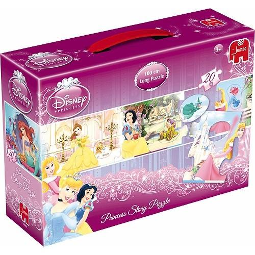 Jumbo Disney kinderpuzzel Princess Story 20 stukjes vanaf 3 jaar
