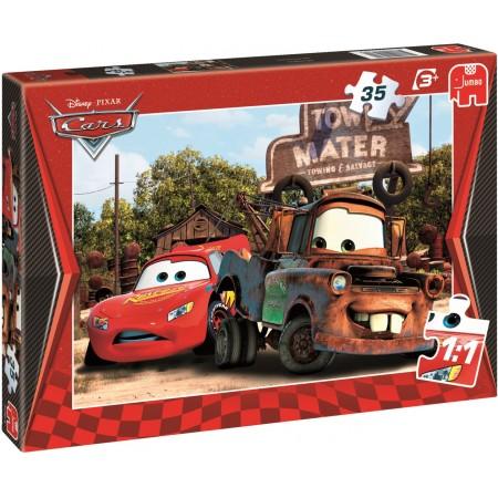 Jumbo Disney kinderpuzzel Cars 35 stukjes vanaf 3 jaar