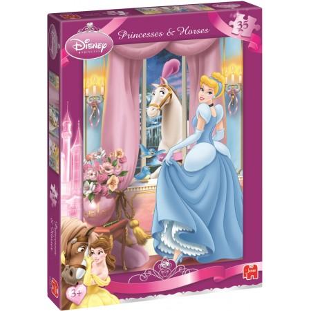 Jumbo Disney kinderpuzzel Princess 35 stukjes vanaf 3 jaar
