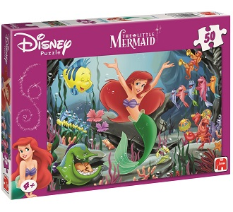 Jumbo Disney kinderpuzzel Zeemeermin 50 stukjes vanaf 4 jaar