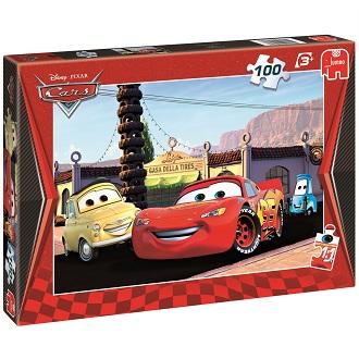 Jumbo Disney kinderpuzzel Pixar cars 100 stukjes vanaf 3 jaar