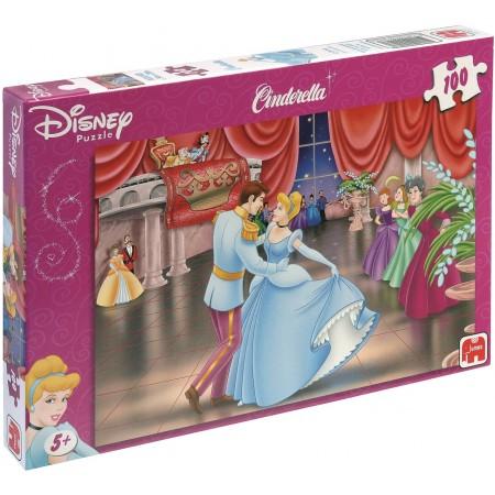 Jumbo Disney kinderpuzzel Cinderella 100 stukjes vanaf 5 jaar