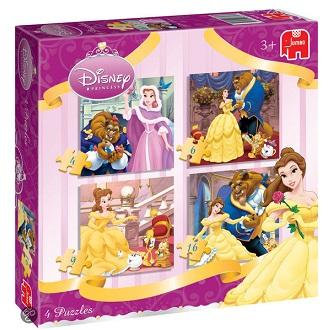 Jumbo Disney puzzel Beauty and the beast 16 stukjes vanaf 3 jaar