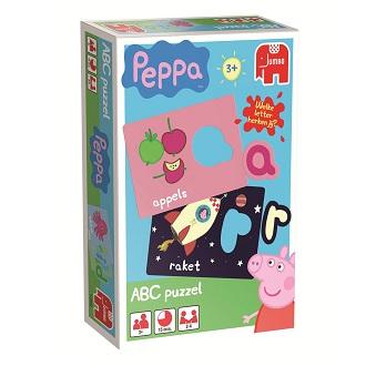 Jumbo Peppa puzzel abc 26 stukjes vanaf 3 jaar
